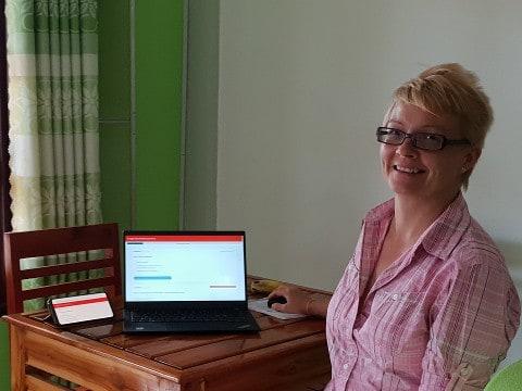 Nettisivujen tekijä, WordPress, Kati Palm, sisällöntuottaja.