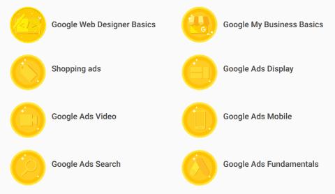WordPress yllapito-osaajan ja nettisivujen tekijän Google Ads sertifikaatit